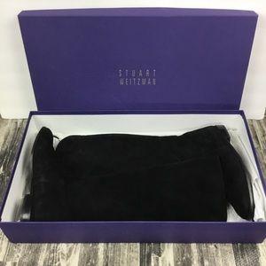 Stuart Weitzman Boots Black Suede Size 8 Tall